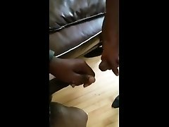 black on black sword fight and grinding frot