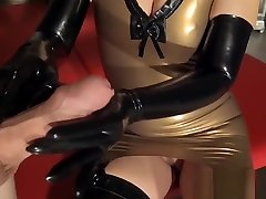 Milked By My Long heat story sex sceen Gloves
