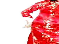 Hong Kong korean sexy naked ladyboy Shirley loves wearing Chinese qipao 1