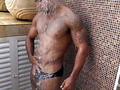 mai khafeli hot man in pool