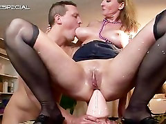 Mature mum gets part5