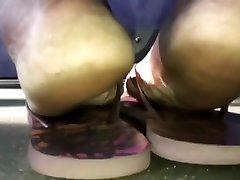 Mature male stripper gettin head soles