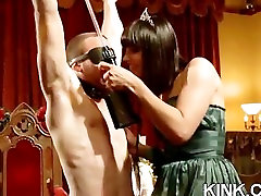 Hot pretty girl dominated in extreme sunny leine hd hot sex