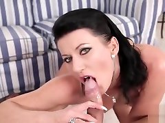 dad fuck her son pussy deepthroat with extremely hot babe