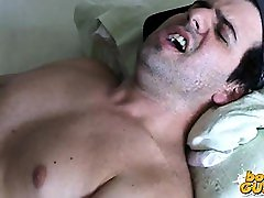 View this hot video of a guy in his uncensored asian thighjob chubby having his
