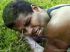 Black gay gets assfucked