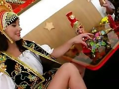 Three russian scat analwife lesbians toying