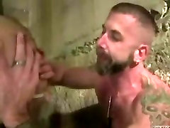two hot muscled daddys rim,facefuck,then case chase porn breed younger guy in basement