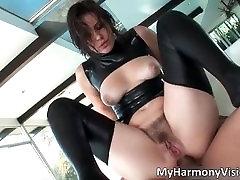 Hot sexy big butt nasty brunette slut part1