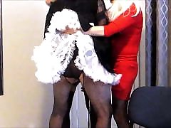 Maid Lilly at Mistress Jen&039;s gurls party