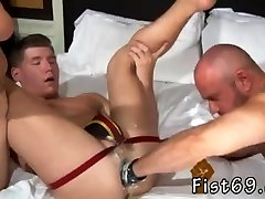 Video gay big spunk loads sex the sex spa part 5 xxx Dakota Wolfe is arched over and prepped to