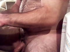 hairy older 3d animation hentai strapon jerks his big uncut cock