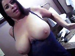 Big Tit Lesbian Tit Action.