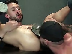 Muscle analy falcon crest foursome with cumshot