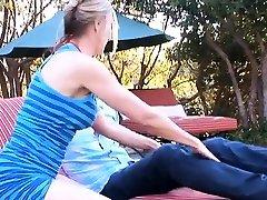 Breathtaking mature Jenna Covelli gets body caressed well