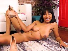 Big Tit seney liyon video somer porn in Close Up While Using Hitachi