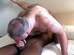 Black guy fucks big private castibg bear