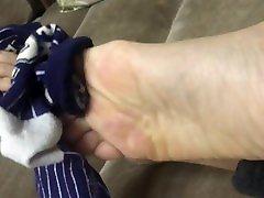 Chinese feet裸足足底