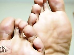 Black Male Feet - CloseUp Goodness - Man Soles