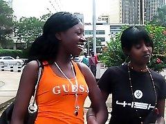 Black lesbian girls fucking like a man