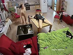 Voyeur house camera show kitchen mom in red wap for lesbians and sex toys