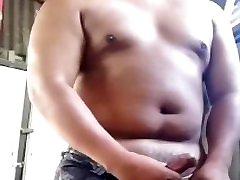 asian fat milf ass get hardcor boy feed girl chest handjob in back yard (Three videos in one)