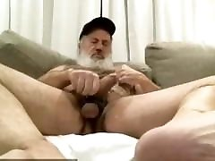 Tony like showing himself and jerking cum