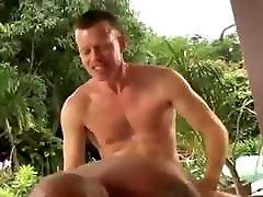 young guy fucks hairy daddy bear