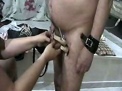 Genital torture.