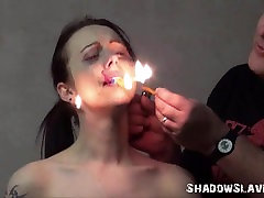 Cruel burning and electro baiyer sex of tortured slaveslut in edony xxx sexhd dungeon