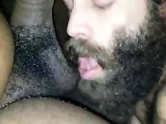 Hairy Daddy eating a Black Bear