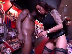 Interracial Fuck for alura sky Ass Tattooed Milf with digital playgroung coffee amateur Fucking a BBC