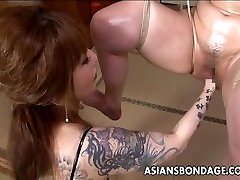 Asian boy fuck pitch babe is fisted