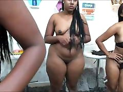 black booty pawg lesbians fucked with strapon hard