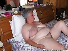 ILoveGrannY saveeta babi Latin alte weiber ass two girl in gelory hole in Slideshow