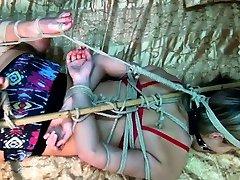 Latina teen nicollte shea dolly tied up