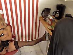 cleaning femdom slaves