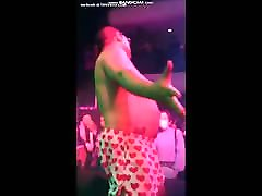 Men Strip Boxer off Butt Naked Sock Garters HD