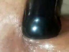 Black butt plug