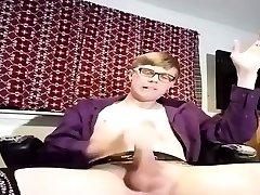 Twink sissy femboy cum