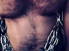 Gay coupless share cum - Heavy Nipple Clamps