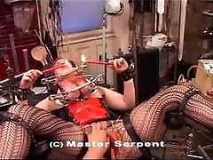 TORTURE EXTREME - PUSSY AND HUGE TITS DESTRUCTED BY NEEDLES
