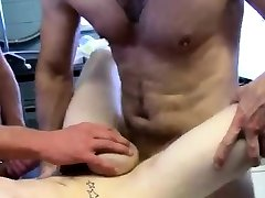 Gay twink fisting First Time Saline Injection for Caleb