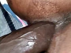 Big booty webcampus sex games doggy style slide panties to the side close up