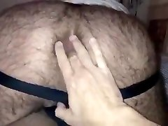he loves playing hot muscled hairy ass