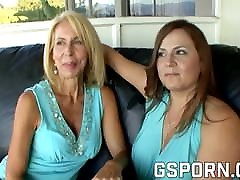 Homemade mature clash of null milfs with hairy pussy have wet sex