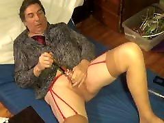 crossdressing transvestite sounding urethral god dildo 199