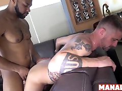 MANALIZED only pakistani full xxx Ray Diesel Cums After Interracial Bareback