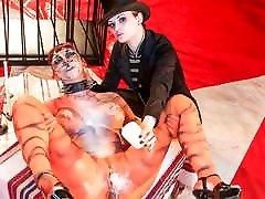 FORBONDAGE Leah Obscur & Alissa Noir - BDSM Circus Despair