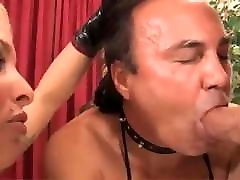 Mistress With Cock Sucking Slave